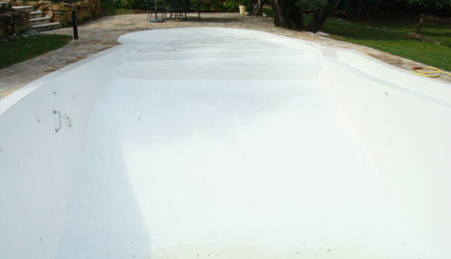 Swimming pool renovation Valbonne - Ace of Spades Garden
