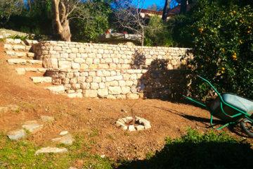 Garden walls & Stonework